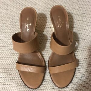 Kate Spade wedge sandals Size 8.5